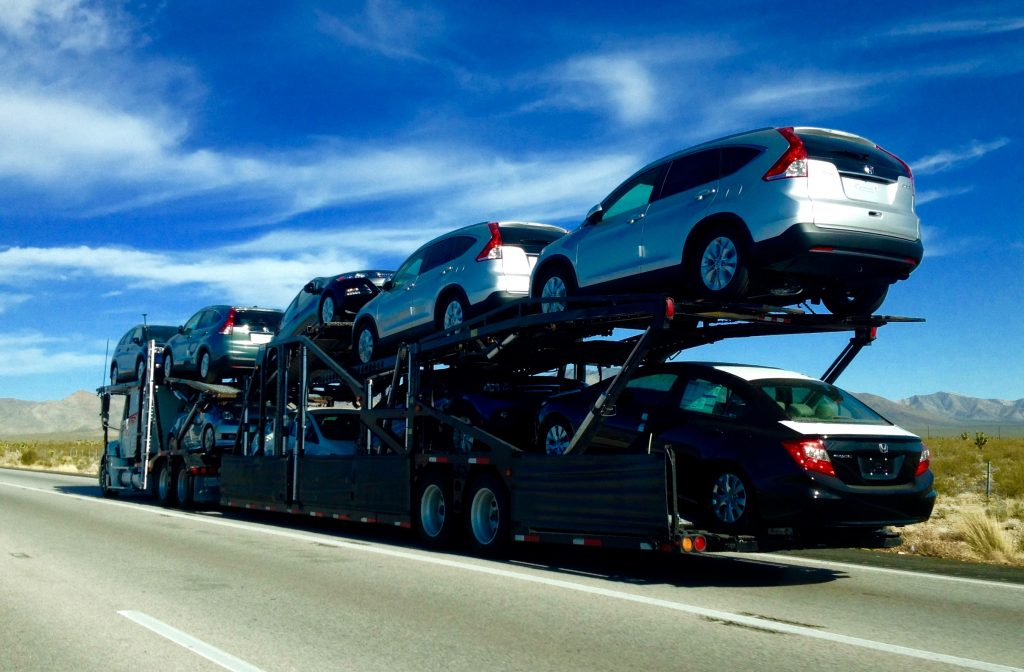 The Cost To Ship A Car To Another State & Cross Country Is